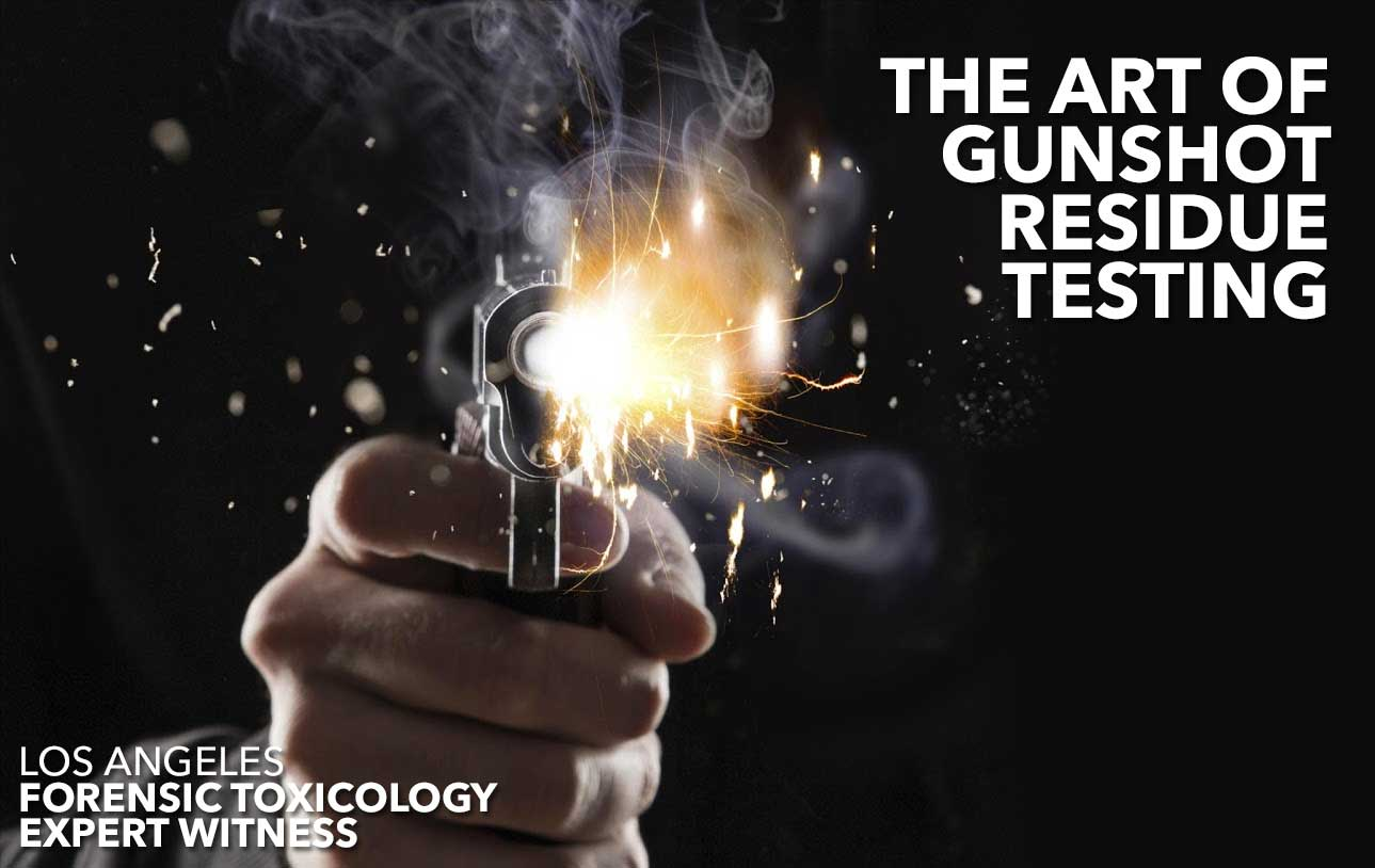 An Expert Witness Explains Gunshot Residue Testing