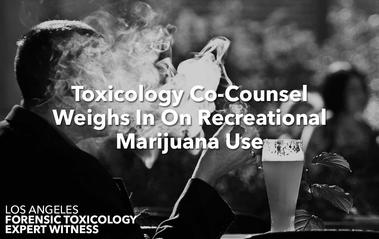 Toxicology Co-Counsel